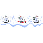 Holiday Snowmen 2