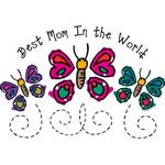 Butterfly Best Mom