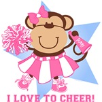 Monkey Cheerleader