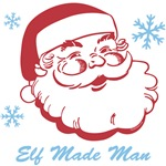 Retro Santa Elf Made Man