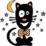 Funny Halloween Kitty