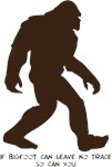 If Bigfoot Can
