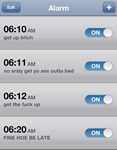 iPhone Alarm 2