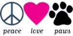 Peace Love Paws Design