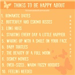 Things to be happy about