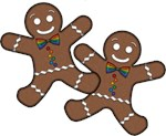 Gay Gingerbread Couple