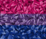 Abstract Bisexual Flag