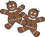 Lesbian Pride Gingerbread Women