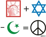 USA + Israel - Islam = Peace