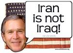 Iran Not Iraq