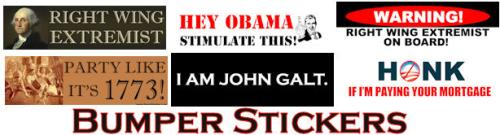 Anti Obama & Anti Liberal Bumper Stickers