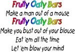 Fruity Oaty Bar lyrics T-shirts & Gifts