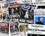 Historic Obama Collages