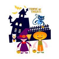 Halloween and Pumpkin Head