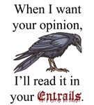 Opinions and Entrails