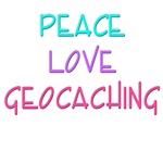 Peace Love Geocaching
