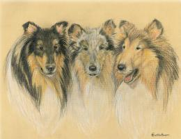 Fun Collie Items and Mary Callaham's Collie Art