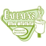 Barbara's Ball Washers (green print)
