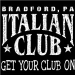 The Italian Club / Get Your Club On (White)
