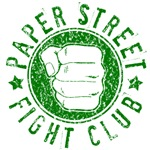Paper Street Fight Club (Green print)