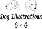 C-G Dog Illustrations