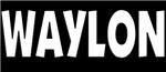 Waylon Jennings Logo Tee