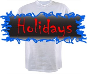 CLICK HERE FOR <BR>Holiday T-shirts & Gag Gif