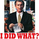 Bush - I Did What? (Filmgrain)
