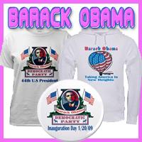 Barack Obama T-Shirts and Gifts