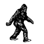 GONE SQUATCHIN BIGFOOT DESIGN