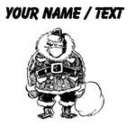 Custom Santa Clause Sketch