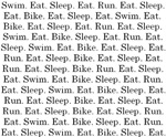Triathlete's Life