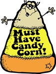 Funny Halloween Candy Corn