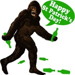 Happy St Patricks Day Bigfoot
