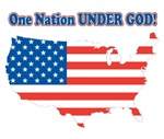 One Nation Under God T-shirts & Gifts