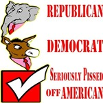Republican, Democrat, Seriously Pissed Off America