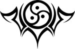 Tribal BDSM Symbol