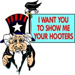 Uncle Sam Show Me Your Hooters