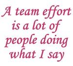 Team Effort Definition