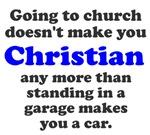 Church Christian Garage Car