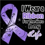 Ribbon Hero in My Life Hodgkins Lymphoma Shirts