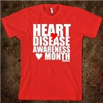 Go Red Heart Disease Red Shirts