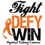 Kidney Cancer Fight Defy Win Shirts