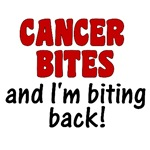 Cancer Bites and I'm Biting Back Shirts & Gifts