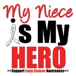 Lung Cancer Hero (Niece) Shirts & Gifts