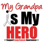 Lung Cancer Hero (Grandpa) Shirts & Gifts
