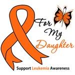 Leukemia Ribbon For My Daughter Shirts & Gifts