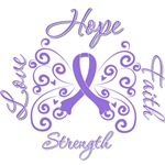 Hope Love Faith Hodgkin's Lymphoma Shirts