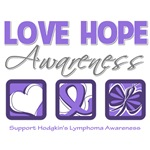 Love Hope Hodgkin's Lymphoma Shirts