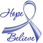 Hope Believe Colon Cancer Shirts